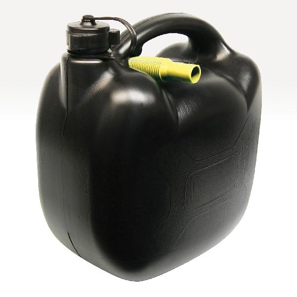 Image of Carpoint Benzinekan 10L 580gr zwart UN/BAM 10026