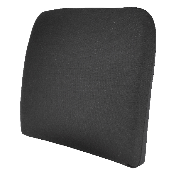 Carpoint Rugkussen 'Basic Black' 23295