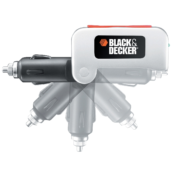 Image of Black & Decker Black&Decker BDPC10USB Omvormer USB 90101