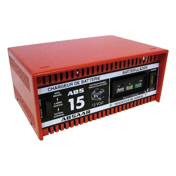 Absaar Absaar acculader 15A 12V NORMAAL-S 05315