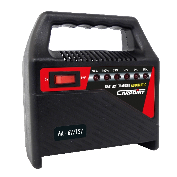 Carpoint Acculader 6A T 35806