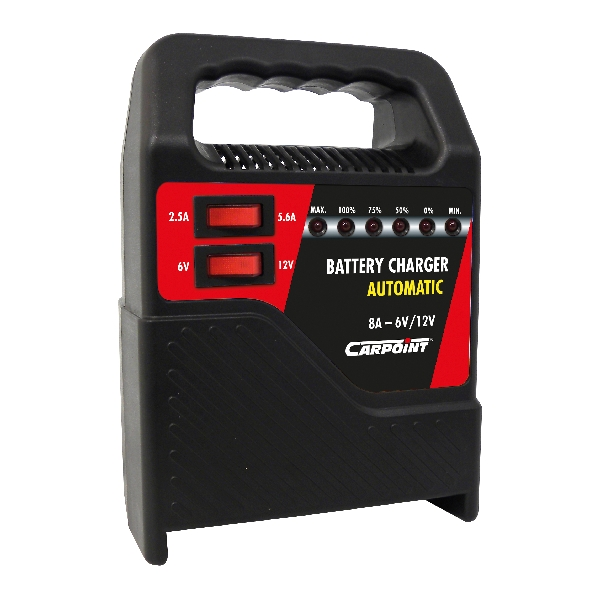 Carpoint Acculader 8A T 35808