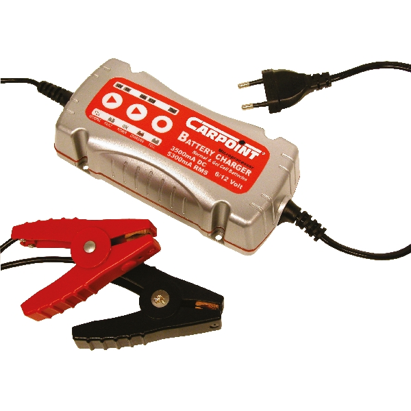 Carpoint Acculader 'Intelligent' 3,5A 6-12V 35860