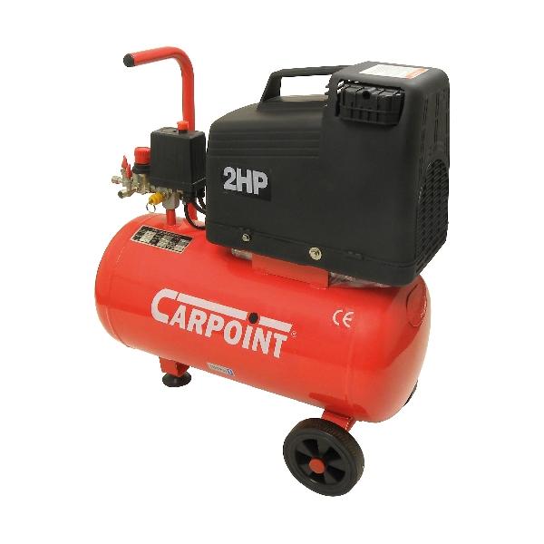 Image of Carpoint Compressor olie vrij 24 liter 2 PK 55001