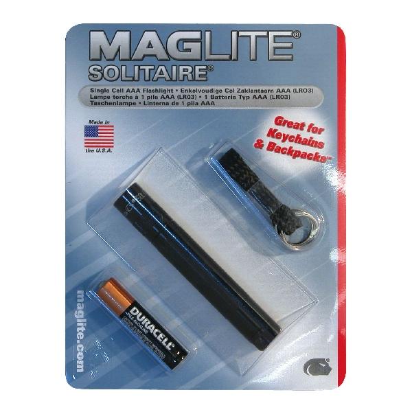 Image of Maglite Maglite Solitaire zwart 10201