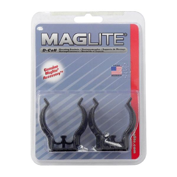 Image of Maglite Maglite Wandklem 2x voor D lamp 10221