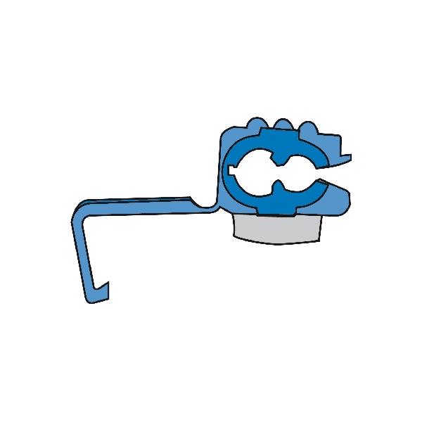 Carpoint Kabelverbinders 1560 blauw 10st 23827