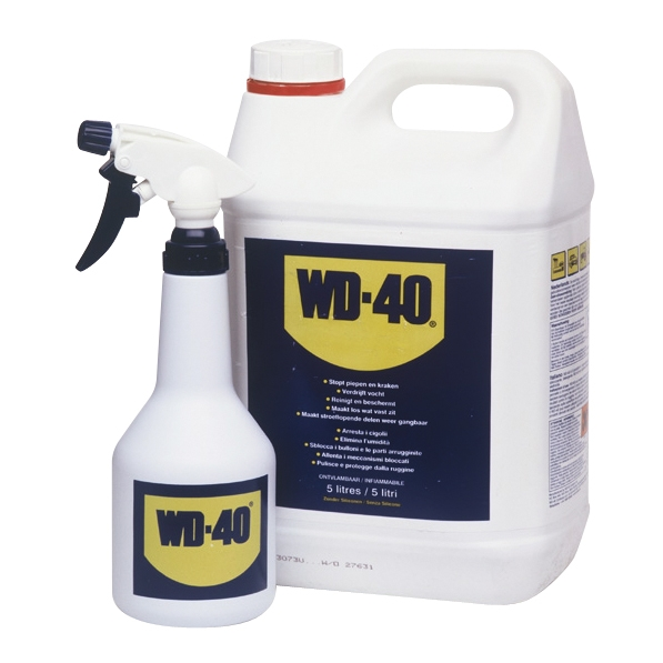 Image of Wd-40 WD-40 49506 Multispray 5L jerrycan incl trigger 10010