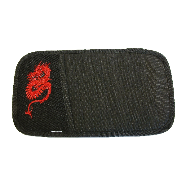 Image of Carpoint CD houder zonneklep Dragon rood 78820 2078820_613