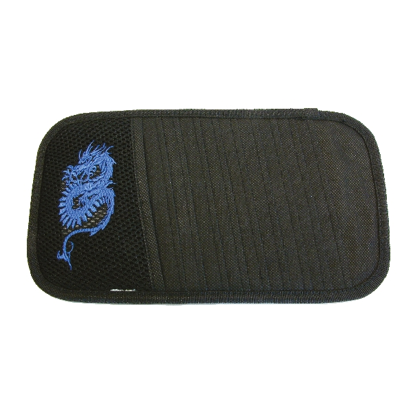 Image of Carpoint CD houder zonneklep Dragon blauw 78821 2078821_613