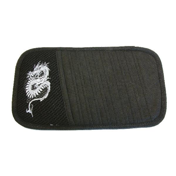 Image of Carpoint CD houder zonneklep Dragon grijs 78822