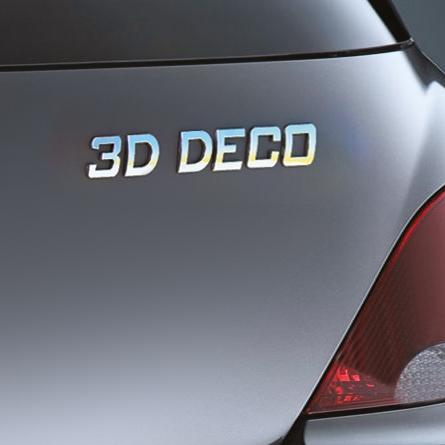 Image of Carpoint 3D deco letter 'U' 18621