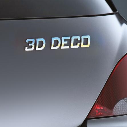 Image of Carpoint 3D deco cijfer '3' 18630