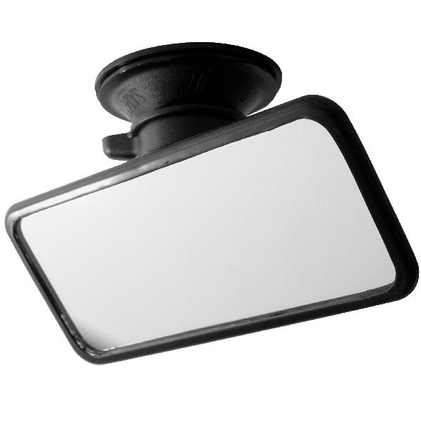 Afbeelding van Binnenspiegel met zuignap klein