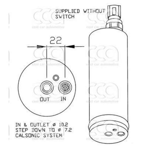 Image of 4seasons Airco droger/filter FD34803