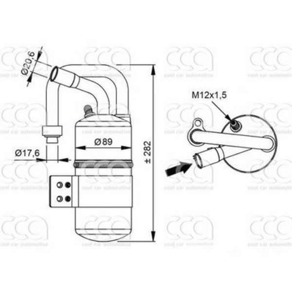 Image of 4seasons Airco droger/filter FD34969