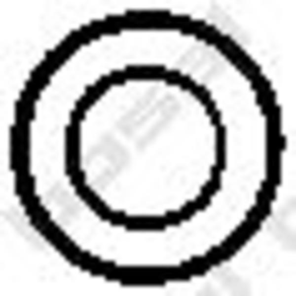 Bosal Veerring uitlaatsysteem 258-110