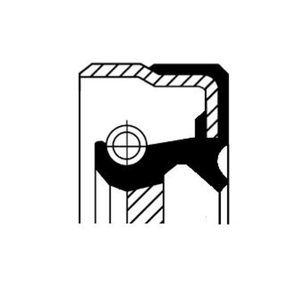 Image of Corteco Differentieel keerring 01019477B 01019477b_271