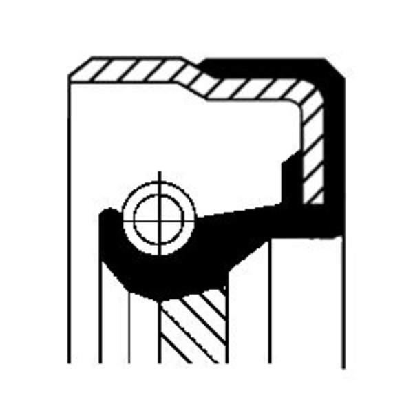 Image of Corteco Differentieel keerring 01019290B 01019290b_271