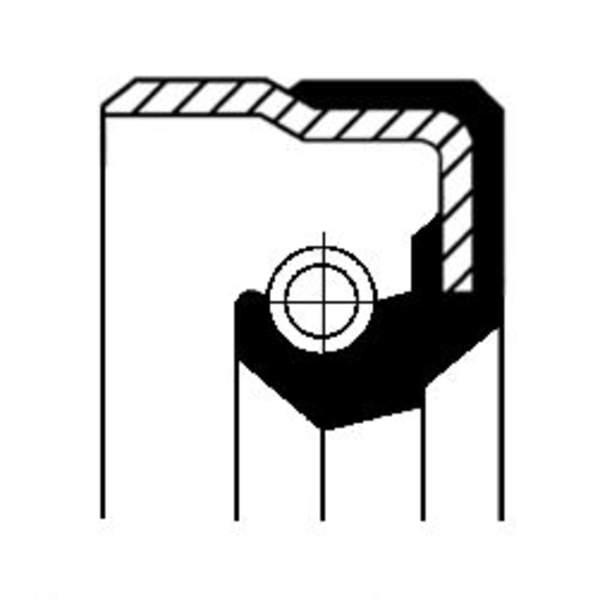 Image of Corteco Differentieel keerring 01020047B 01020047b_271
