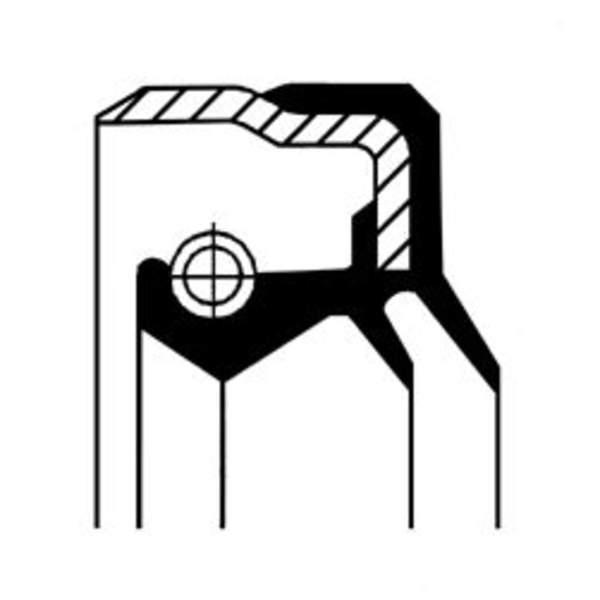 Image of Corteco Differentieel keerring 01020124B 01020124b_271