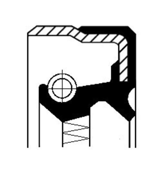 Image of Corteco Differentieel keerring 01016879B 01016879b_271