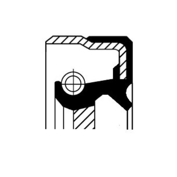 Image of Corteco Autom.bak keerring 01036174B 01036174b_271