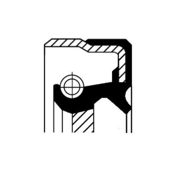 Image of Corteco Autom.bak keerring 01035821B 01035821b_271