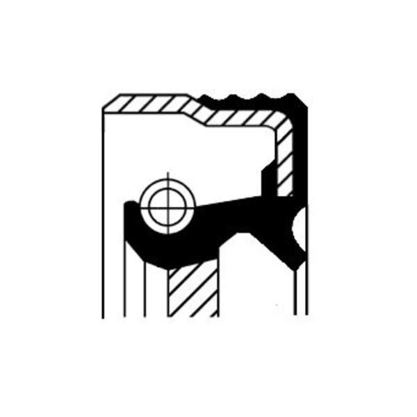 Image of Corteco Autom.bak keerring / Krukaskeerring 12014607B 12014607b_271