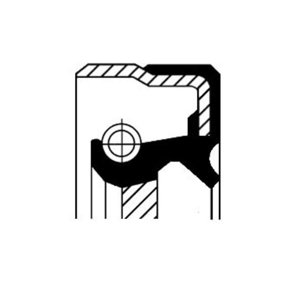 Image of Corteco Differentieel keerring 01025573B 01025573b_271