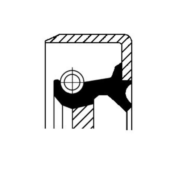 Image of Corteco Brandstofpomp onderdeel 12011475B 12011475b_271