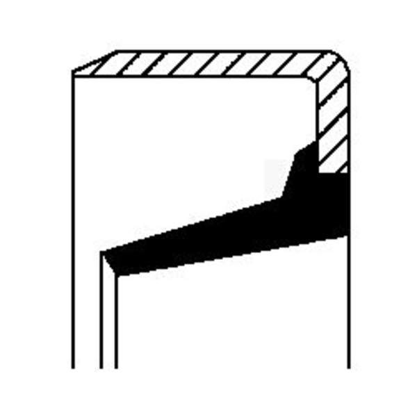 Image of Corteco Autom.bak keerring / Schakelstang keerring 20026879B 20026879b_271
