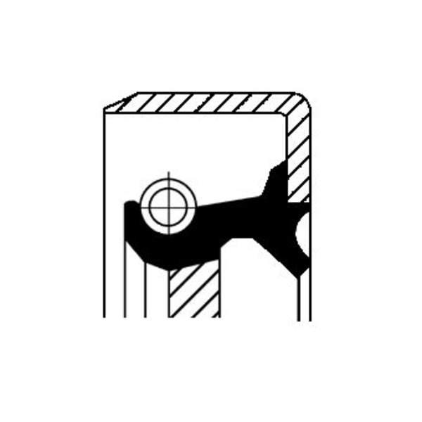 Corteco Oliepomphuis keerring / Schakelstang keerring 12011290B