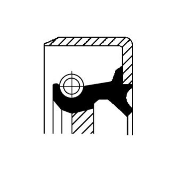 Image of Corteco Differentieel keerring 01019450B 01019450b_271