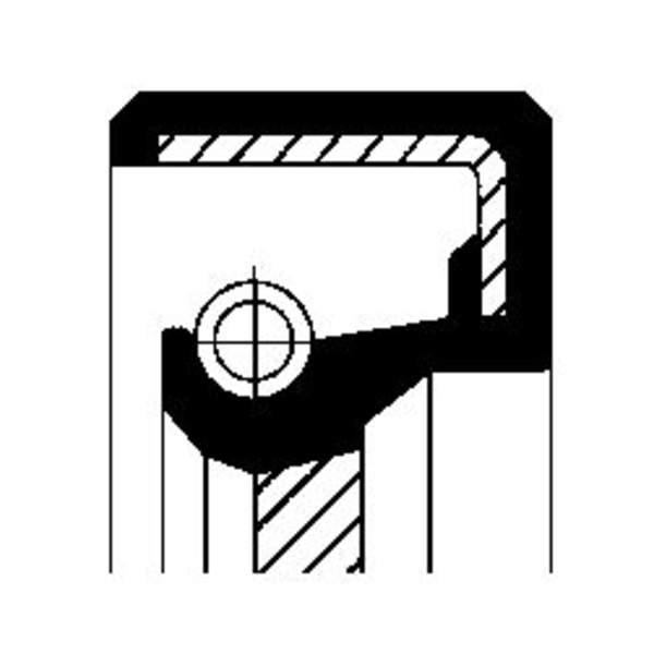 Image of Corteco Autom.bak keerring / Schakelstang keerring 15030306B 15030306b_271
