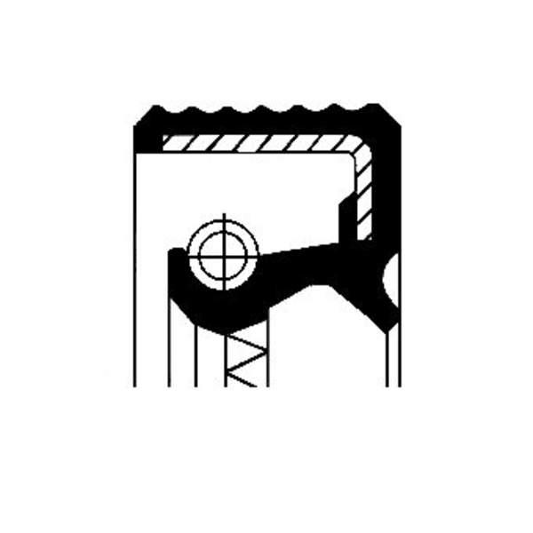 Image of Corteco Differentieel keerring 01018330B 01018330b_271