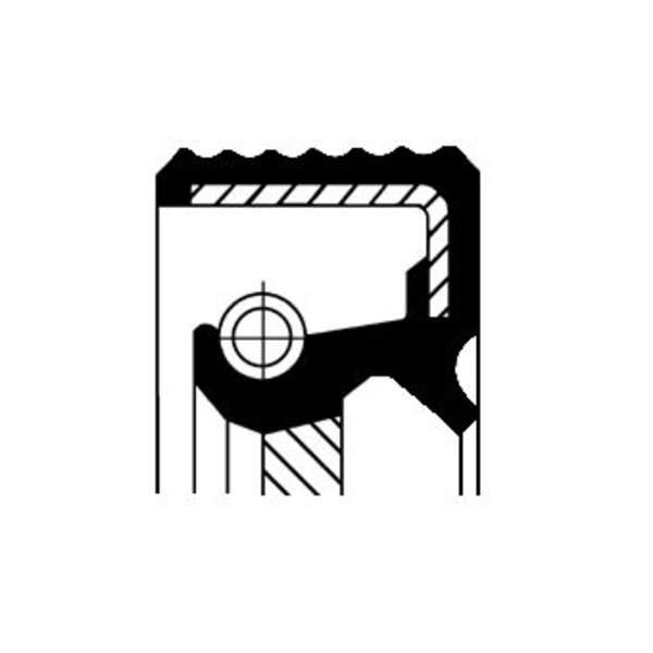 Image of Corteco Autom.bak keerring 01033864B 01033864b_271
