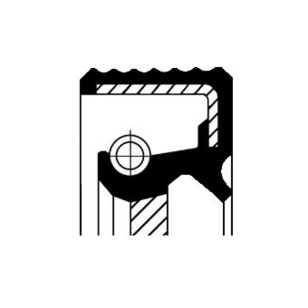 Image of Corteco Autom.bak keerring / Schakelstang keerring 01036301B 01036301b_271