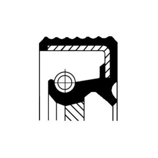 Image of Corteco Differentieel keerring 01020537B 01020537b_271