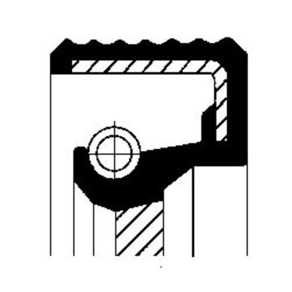 Image of Corteco Autom.bak keerring / Schakelstang keerring 01019289B 01019289b_271