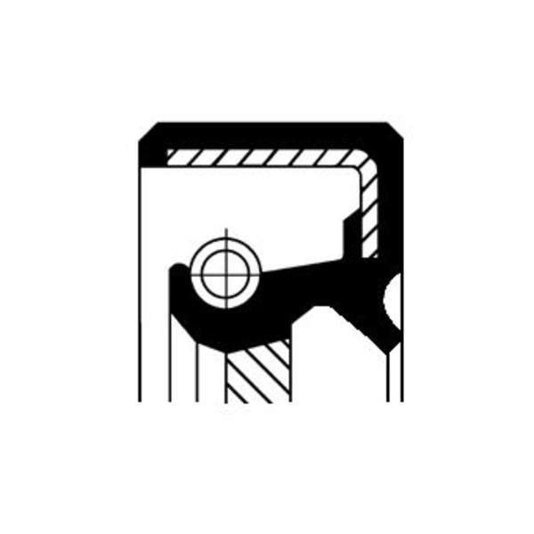 Image of Corteco Autom.bak keerring / Differentieel keerring 19034067B 19034067b_271