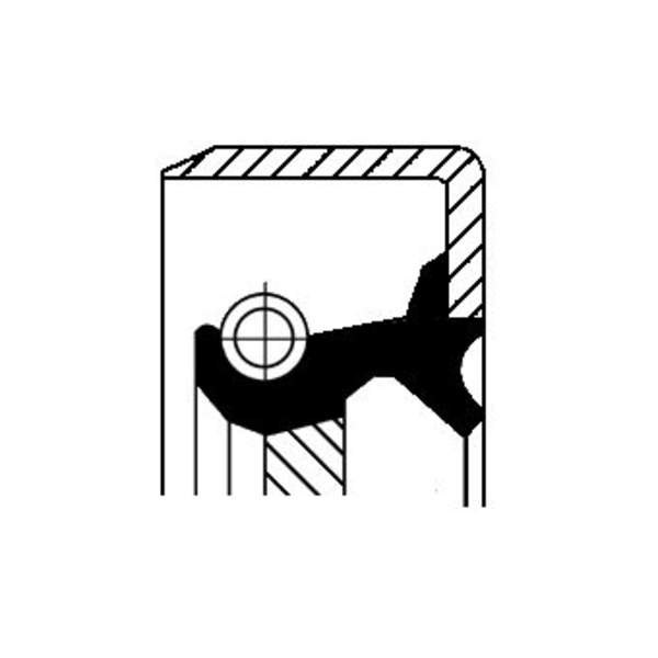 Image of Corteco Autom.bak keerring 19026311B 19026311b_271