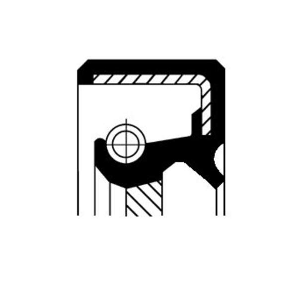 Image of Corteco Brandstofpomp onderdeel 19037189B 19037189b_271