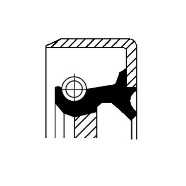 Image of Corteco Autom.bak keerring / Schakelstang keerring 19034104B 19034104b_271