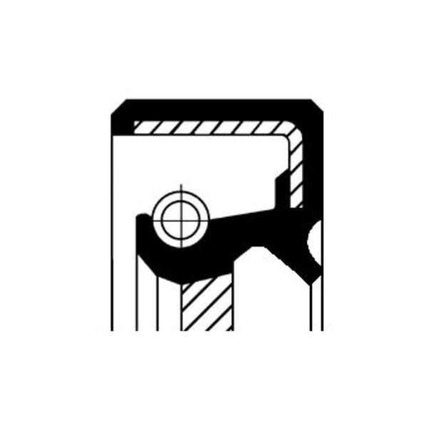 Image of Corteco Autom.bak keerring / Differentieel keerring 19034911B 19034911b_271