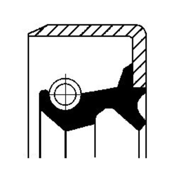 Image of Corteco Brandstofpomp onderdeel 19035326B 19035326b_271
