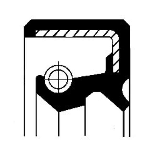 Image of Corteco Aandrijving tachometer afdichtring / Autom.bak keerring 01033982B 01033982b_271