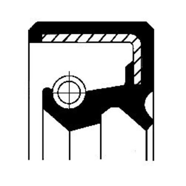 Image of Corteco Autom.bak keerring / Differentieel keerring 19017582B 19017582b_271