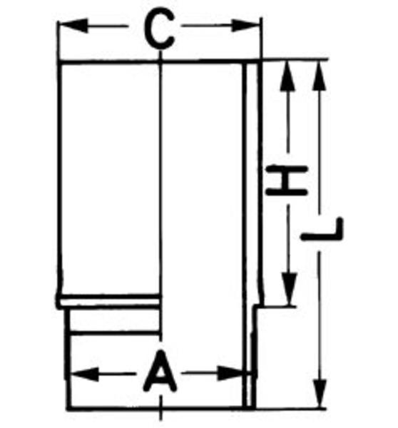 Image of Kolbenschmidt Cilinderbus/voering 89023110