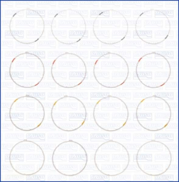 Image of Ajusa Cilinderbus/voering O-ring 60001400 60001400_256